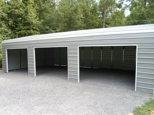 Bent Bow Sidewinder garage with three side openings Item # 49