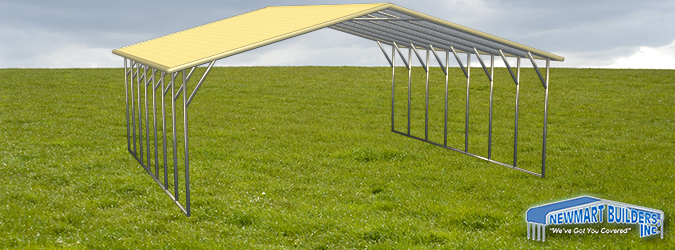 Build Your 2 x 3 A-Frame Steel Structure